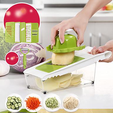 فولاذ مقاوم للصدأ+ABS بدرجة A مقشرة ومبشرة متعددة الوظائف المطبخ الإبداعية أداة أدوات أدوات المطبخ Everyday Use لأواني الطبخ 1PC