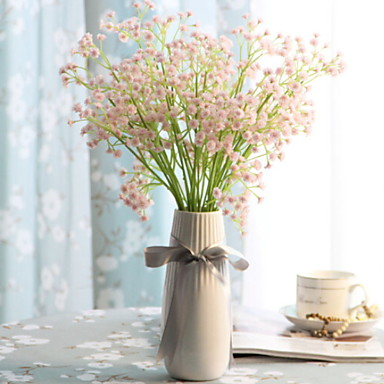 زهور اصطناعية 10 فرع كلاسيكي الحديث المعاصر أسلوب بسيط ورادت ناعمة أزهار الطاولة