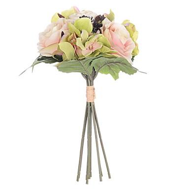زهور اصطناعية 1 فرع كلاسيكي الحديث المعاصر الزفاف الزهور الخالدة أزهار الطاولة