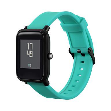 حزام إلى Huami Amazfit Bip Younth Watch Xiaomi بكلة عصرية سيليكون شريط المعصم