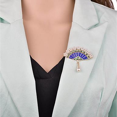 نسائي 3D دبابيس - سيدات, عتيق, أوروبي بروش مجوهرات ذهبي من أجل حفلة ليلية / المكتب & الوظيفة