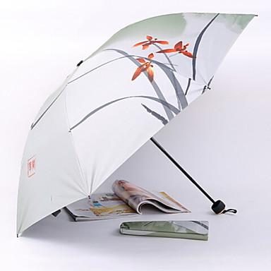 البوليستر / ستانلس ستيل الجميع مشمس وممطر مظلة ملطية