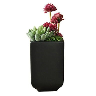 زهور اصطناعية 1 فرع كلاسيكي الحديث المعاصر أسلوب بسيط الزهور الخالدة النباتات العصارية أزهار الطاولة