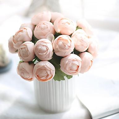 زهور اصطناعية 1 فرع كلاسيكي الحديث المعاصر Wedding Flowers الزهور الخالدة أزهار الطاولة