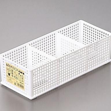 بلاستيك مستطيل كوول الصفحة الرئيسية منظمة, 1PC تخزين الماكياج