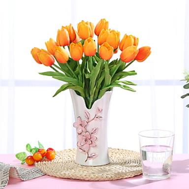 زهور اصطناعية 1 فرع كلاسيكي الحديث المعاصر أسلوب بسيط الزهور الخالدة المزهرية أزهار الطاولة