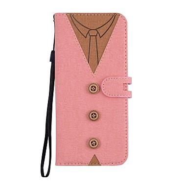 Недорогие Чехлы и кейсы для Galaxy S6 Edge-Кейс для Назначение SSamsung Galaxy S9 / S9 Plus / S8 Plus Кошелек / Бумажник для карт / со стендом Чехол Панк Твердый Кожа PU