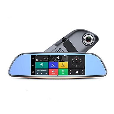 Factory OEM H2. 720p HD / ليلة الرؤية سائق سيارة 140 درجة زاوية واسعة 5 MP CMOS 7 بوصة IPS داش كام مع WIFI / ليلة الرؤية / تسجيل غير منتهي لا مسجل السيارة / حلقة دورة التسجيل