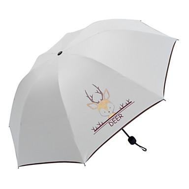 البوليستر / ستانلس ستيل نسائي مشمس وممطر / جميل مظلة ملطية