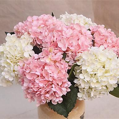زهور اصطناعية 1 فرع كلاسيكي فردي الزفاف Wedding Flowers أرطنسية أزهار الطاولة