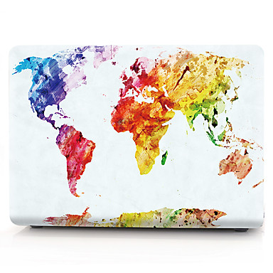 MacBook Case Cartoon / Oil Painting PVC(PolyVinyl Chloride) for Macbook Pro 13-inch / MacBook Pro 15-inch with Retina display / New MacBook Air 13