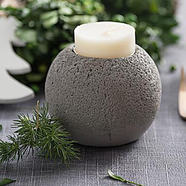 الطراز الأوروبي البلاستيك Candle Holders الشمعدانات 1PC, شمعة / حامل شمعة