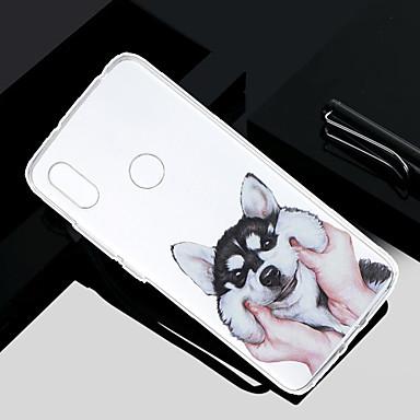 غطاء من أجل Xiaomi Redmi Note 5A / Xiaomi Redmi Note 4X / Xiaomi Redmi Note 4 شفاف / شبه شفّاف / نموذج غطاء خلفي كلب ناعم TPU / Xiaomi Redmi 4A