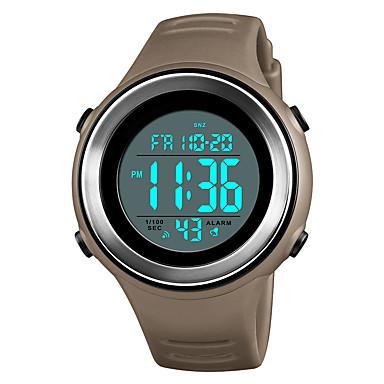 Χαμηλού Κόστους Ανδρικά ρολόγια-SKMEI Ανδρικά Αθλητικό Ρολόι Ρολόι Καρπού Ψηφιακό ρολόι Ιαπωνικά Ψηφιακό Συνθετικό δέρμα με επένδυση Μαύρο / Μπλε / Πράσινο 50 m Ανθεκτικό στο Νερό Συναγερμός Ημερολόγιο Ψηφιακό Καθημερινό Μοντέρνα -