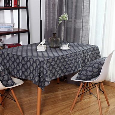 معاصر قطن مربع قماش الطاولة ورد الجدول ديكورات 1 pcs