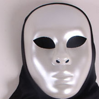 Holiday Decorations Halloween Decorations Halloween Masks Party / Decorative / Cool Black / Silver 1pc