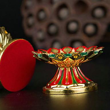 الحديثة / المعاصرة البلاستيك والمعادن Candle Holders الشمعدانات 1PC, شمعة / حامل شمعة