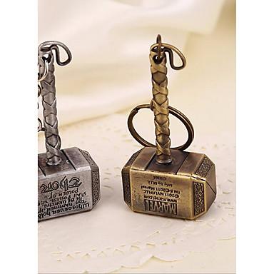 سلسلة المفاتيح عتيق موضة خواتم مجوهرات بني / فضي من أجل مناسب للبس اليومي شارع