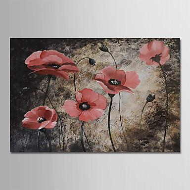 هانغ رسمت النفط الطلاء رسمت باليد - حياة هادئة الأزهار / النباتية الحديث بدون إطار داخلي / توالت قماش
