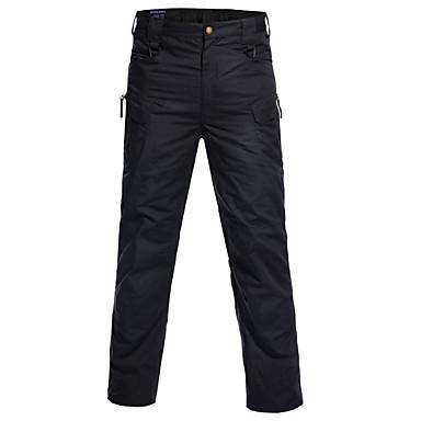 رجالي مناسب للبس اليومي بدلة / سراويل كارغو بنطلون - لون سادة قطن بني فاتح أخضر داكن كاكي L XL XXL