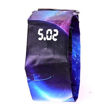זול שעוני גברים-בגדי ריקוד גברים בגדי ריקוד נשים שעוני ספורט שעון דיגיטלי דיגיטלי שחור / לבן / כחול 100 m עמיד במים כרונוגרף יצירתי דיגיטלי צבעוני מינימליסטי - הסוואה ירוקה הסוואת בראון לבן / אדום שנה אחת חיי סוללה