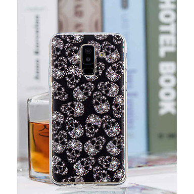 غطاء من أجل Samsung Galaxy A6+ (2018) / A6 (2018) شفاف / نموذج غطاء خلفي جماجم ناعم TPU إلى A6 (2018) / A6+ (2018) / A3 (2017)
