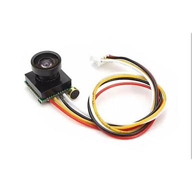 600tvl فائقة صغيرة الحجم 5 فولت 170 درجة لون الكاميرا الصغيرة مع ميكروفون الصوت ل مايكرو كوادكوبتر fpv كاميرا جوية