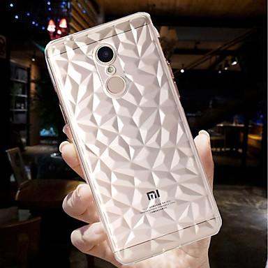 غطاء من أجل Xiaomi Redmi Note 5A / Xiaomi Redmi Note 5 Pro / Xiaomi Mi 8 نحيف جداً / شفاف غطاء خلفي لون سادة ناعم TPU