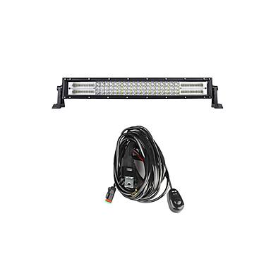 Lights Maker 1 قطعة كيبل الأتصال سيارة لمبات الضوء 336 W SMD 3030 140 LED ضوء العمل من أجل عالمي جميع الموديلات كل السنوات