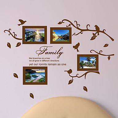 لواصق حائط مزخرفة - ملصقات الحائط الحيوان حيوانات غرفة الجلوس / غرفة النوم / دورة المياه / قابل اعادة الوضع