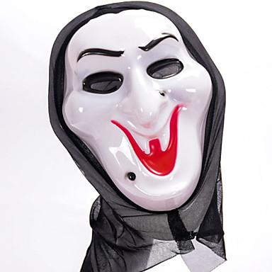 عطلة زينة زينة هالوين ماسك الهالويين / هالوين الترفيه ديكور / كوول أبيض 1PC