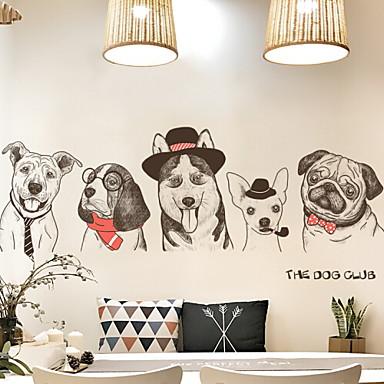 لواصق حائط مزخرفة - لواصق حائط الطائرة حيوانات غرفة النوم
