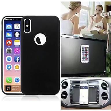 غطاء من أجل Apple iPhone X / iPhone 8 Plus / iPhone 8 مثلج غطاء خلفي لون سادة قاسي TPU