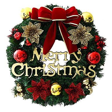 أكاليل / عيد الميلاد الحلي عطلة PVC دائري حزب / حداثة زينة عيد الميلاد
