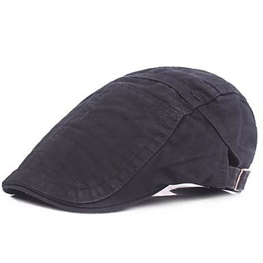 أزرق البحرية رمادي كاكي قبعة قلنسوة لون سادة رجالي بوليستر,أساسي