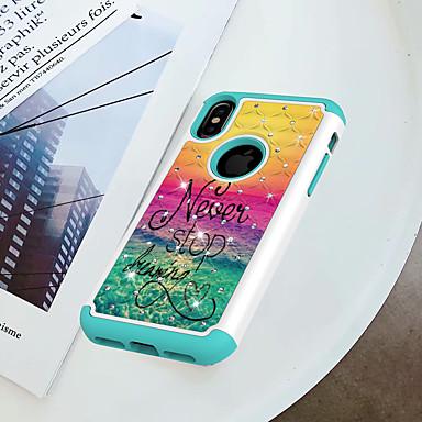 famose per Fantasia PC Per agli iPhone retro urti iPhone iPhone X Resistente Apple 8 iPhone 06915840 Resistente diamantini Custodia iPhone 8 Frasi Per Plus 8 Con disegno X qfnwAaxCPH