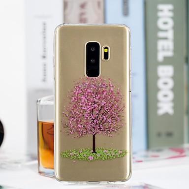 غطاء من أجل Samsung Galaxy S9 / S9 Plus / S8 Plus شفاف / نموذج غطاء خلفي شجرة ناعم TPU