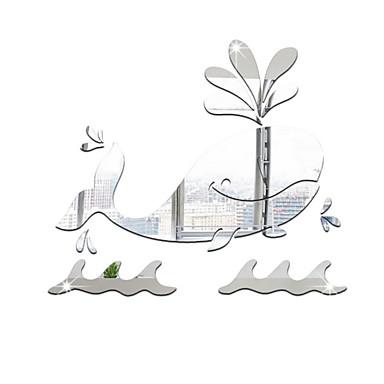 لواصق حائط مزخرفة - ملصقات الحائط على المرآة أشكال غرفة الجلوس