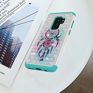 غطاء من أجل Samsung Galaxy S9 Plus / S9 ضد الصدمات / حجر كريم / نموذج غطاء خلفي ملاحق الأحلام قاسي الكمبيوتر الشخصي إلى S9 / S9 Plus / S8 Plus