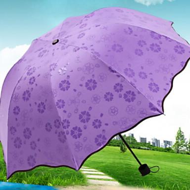 ستانلس ستيل نسائي مشمس وممطر / تصميم جديد مظلة ملطية
