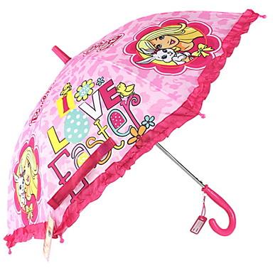 ستانلس ستيل للفتيات مشمس وممطر / تصميم جديد مظلة مستقيمة