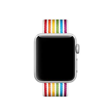 حزام إلى Apple Watch Series 4/3/2/1 Apple عصابة الرياضة / عقدة جلدية نايلون شريط المعصم