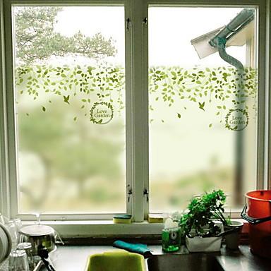 فيلم نافذة وملصقات زخرفة بسيط بسيط PVC ملصق النافذة