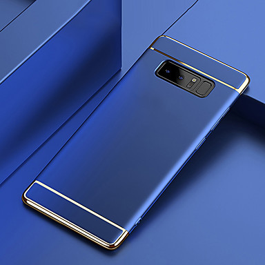 voordelige Galaxy Note-serie hoesjes / covers-hoesje Voor Samsung Galaxy Note 9 / Note 8 Beplating Achterkant Effen Hard PC