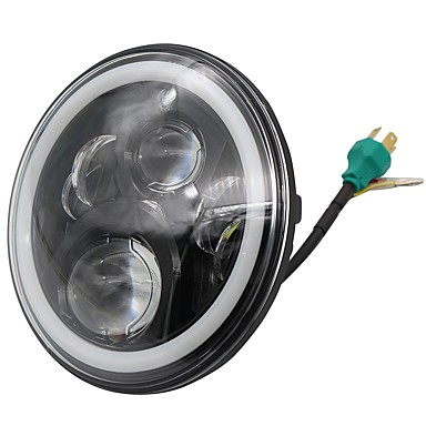 voordelige Autokoplampen-OTOLAMPARA 1 Stuk H4 Automatisch Lampen 60 W Krachtige LED 6600 lm 6 LED Koplamp Voor Jeep Wrangler Alle jaren
