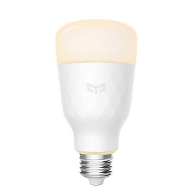 cheap Smart Lights-Xiaomi Yeelight YLDP05YL Smart LED Bulb E27 800 Lumens Adjustable Color Temperature for Mi Home App Smart Light 100-240V