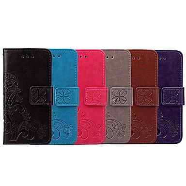 voordelige Hoesjes / covers voor Sony-hoesje Voor Sony Z5 Mini Kaarthouder / Flip Volledig hoesje Effen / Mandala Zacht PU-nahka