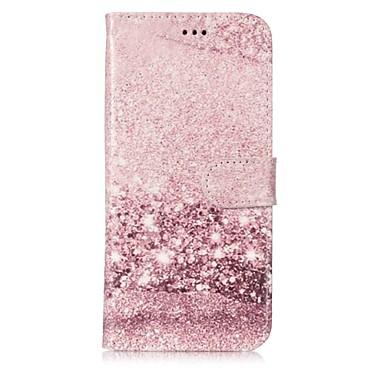 Недорогие Чехлы и кейсы для Galaxy S6 Edge-Кейс для Назначение SSamsung Galaxy S9 / S9 Plus / S8 Plus Кошелек / Бумажник для карт / со стендом Чехол Мрамор Твердый Кожа PU
