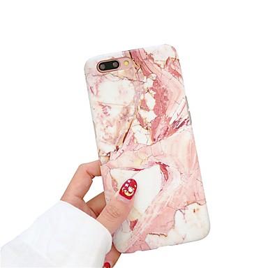 voordelige iPhone X hoesjes-hoesje Voor Apple iPhone XS / iPhone XR / iPhone XS Max IMD / Mat Achterkant Marmer Zacht TPU