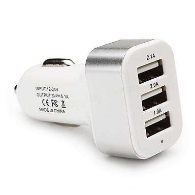 ieftine Încărcătoare Auto-Încărcător de Mașină Încărcător USB Multi Porturi 3 Porturi USB 2.1 A / 1 A DC 12V-24V pentru